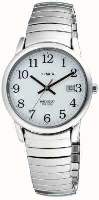 Timex Uitbreidende armband voor heren uit het erfgoed van de gemakkelijke lezer T2H451