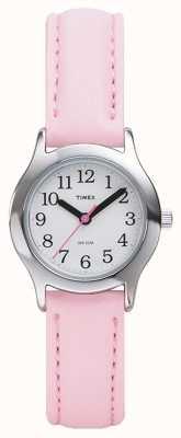 Timex Vrouwen / kinderen roze riem horloge T790814
