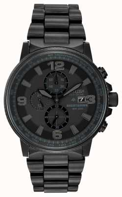 Citizen Eco-drive nighthawk voor heren CA0295-58E