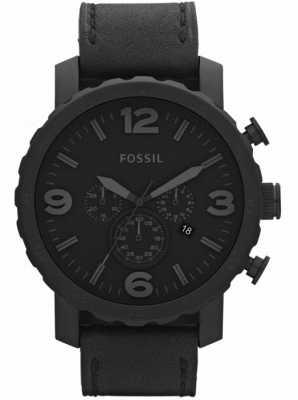Fossil Gents zwarte chronograaf x-large horloge JR1354