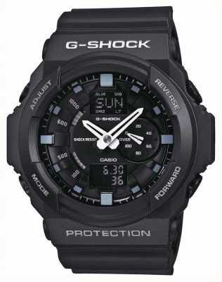 Casio Heren g-shock zwarte chronograaf GA-150-1AER
