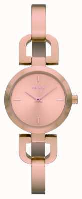 DKNY Dames rose goud RVS horloge NY8542