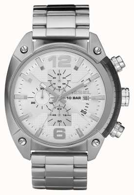 Diesel Gents chronograaf roestvrij stalen armband horloge DZ4203