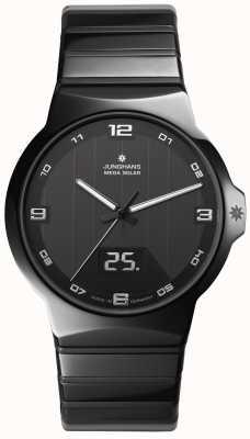 Junghans Force heren keramische behuizing horloge 018/1132.44