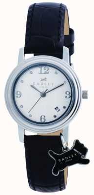 Radley Darlington zwart lederen band horloge RY2007