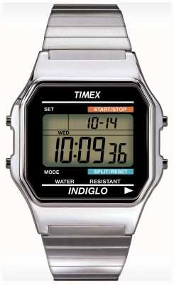 Timex Gent indiglo alarm chronograaf horloge T78587