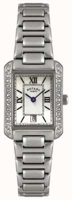 Rotary Womens 'roestvrij stalen armband horloge LB02650/41