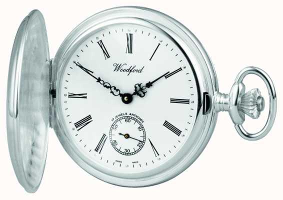 Woodford | volle jager | sterling zilver | zakhorloge | 1001