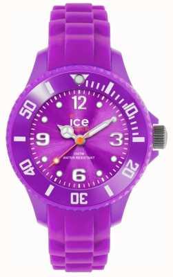 Ice-Watch Kinderen is voor altijd, siliconen, paars SI.PE.M.S