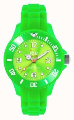 Ice-Watch Kinderen is voor altijd, siliconen, groen SI.GN.M.S