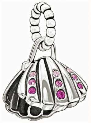 Chamilia Disney - ariel's shell - roze swarovski 2025-0987
