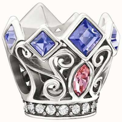 Chamilia Disney - princess koninklijke kroon - paars & roze swarovski 2025-0988