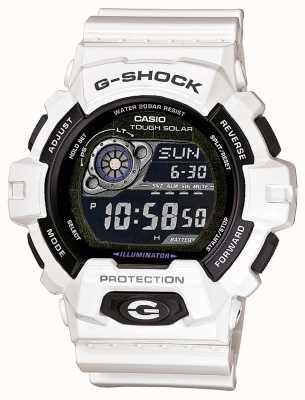 Casio Mens White hars zonne-energie horloge GR-8900A-7ER
