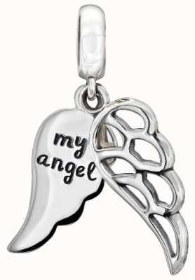 Chamilia Sterling zilver - liefdevolle engel vleugels 2010-3165