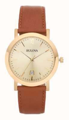 Bulova Heren klassieke jurk horloge 97B135