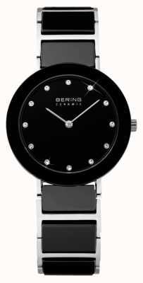Bering Keramische en metalen armband horloge 11429-742