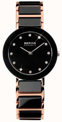 Bering Moderne dual tone keramische horlogeglas 11429-746