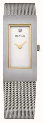 Bering Dames roestvrij staal quartz analoog horloge 10817-004