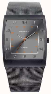 Bering Gents roestvrij staal quartz analoog horloge 11233-077