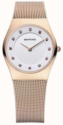 Bering Dames roestvrij staal quartz analoog horloge 11927-366