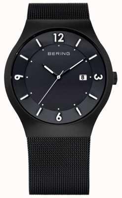 Bering Gents roestvrij staal quartz analoog horloge 14440-222
