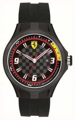 Scuderia Ferrari Gents pitcrew datumweergave horloge 0830005