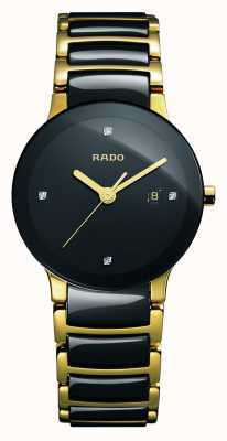 Rado | centrix diamanten | hightech keramiek | zwarte wijzerplaat | R30930712