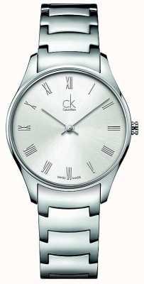 Calvin Klein Classic roestvrij staal dameshorloge K4D2214Z
