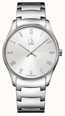 Calvin Klein Heren Classic zilveren horloge K4D2114Z