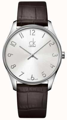 Calvin Klein Klassiek herenhorloge K4D211G6