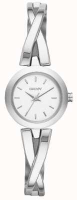 DKNY Dames crosswalk zilveren horloge NY2169