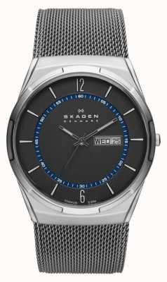 Skagen Mens aktiv grijze mesh titanium horloge SKW6078