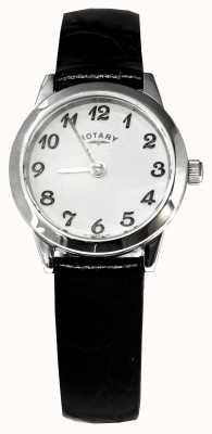 Rotary klassiek stalen horloge Ladies ' LS00761
