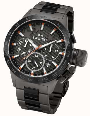 TW Steel Michel kantine heren zwarte chronograaf TW0313