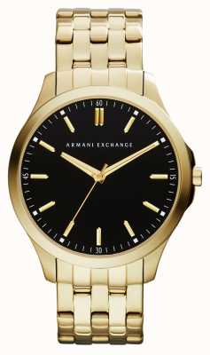 Armani Exchange Mens hampton low profile horloge AX2145