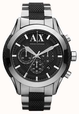 Armani Exchange Actieve roestvrij stalen armband horloge AX1214
