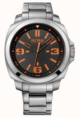 Hugo Boss Orange Mens klassiek horloge met zwarte wijzerplaat 1513099