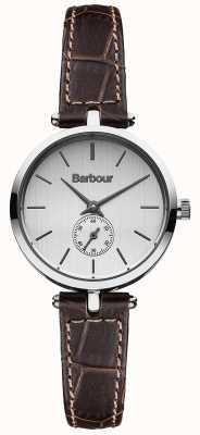 Barbour Lisle bruin lederen band horloge BB011SLBR