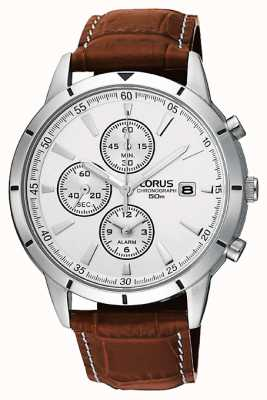 Lorus Mens chronograaf alarm band horloge RF325BX9