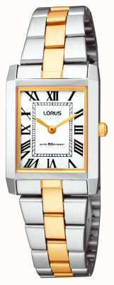 Lorus Ladies 'klassieke vierkante armband horloge RTA03AX9
