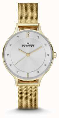 Skagen Ladies anita vergulde armband horloge SKW2150