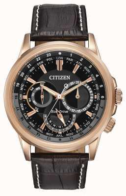 Citizen Mens calendrier steeg toon eco-rijden chronograaf horloge BU2023-04E