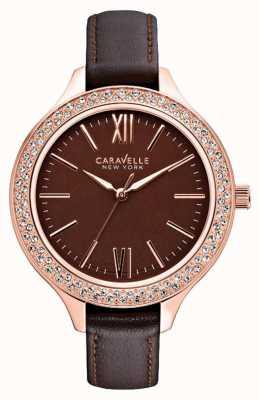 Caravelle New York Dames carla horloge 44L124