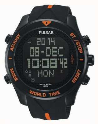 Pulsar Mens pulsar alarm chronograaf PQ2037X1