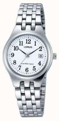 Lorus Ladies roestvrijstalen datum horloge RH791AX9