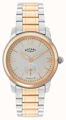 Rotary Cambridge heren two tone horloge GB02701/01