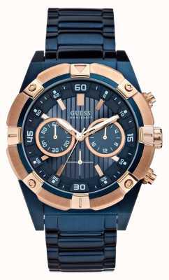Guess Mens schok horloge W0377G4