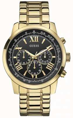 Guess Horizon heren chronograaf W0379G4
