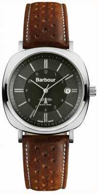 Barbour Mens baken rijden tan horloge BB018SLTN