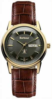 Barbour Unisex 42mm Gosforth barbour horloge BB036GDBR